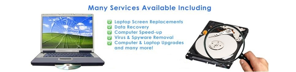 Cyber Nugget IT Services - Garden Route - Oudtshoorn - Laptop Screen Repairs - Laptop Upgrades