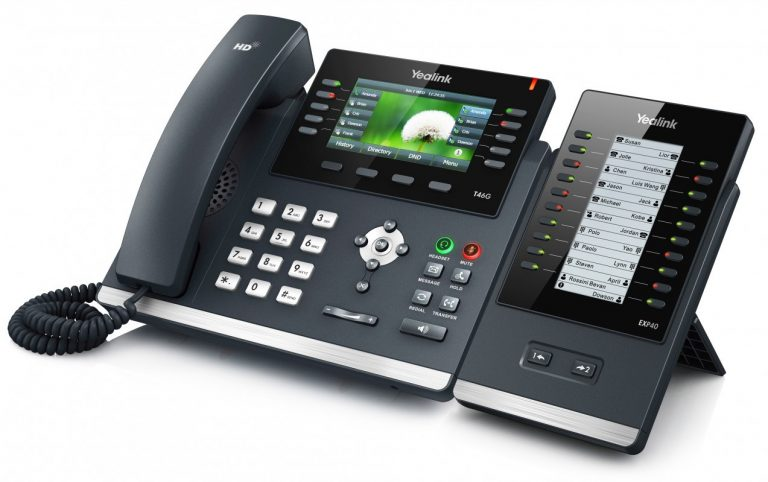 Yealink-T48 - Cyber Nugget IT Services - VoIP Service Provider - South Africa - Garden Route - Oudtshoorn