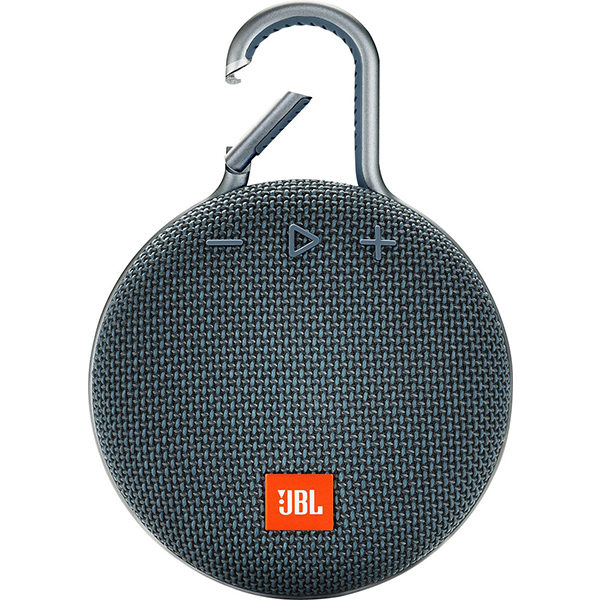 JBL Clip 3 Gray Portable Bluetooth Speaker Black | Cyber Nugget IT Services | Garden Route