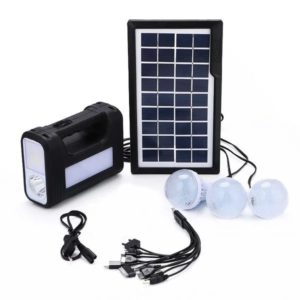 Portable Solar Charged Light System